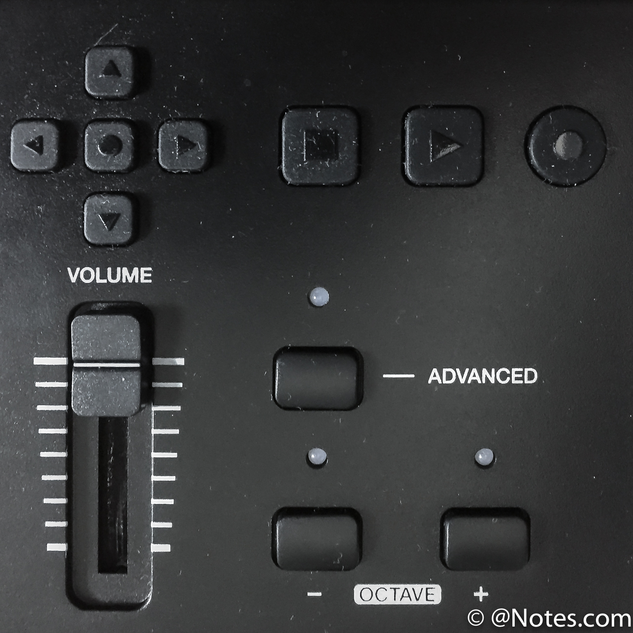 Keystation61Mk3のボタン