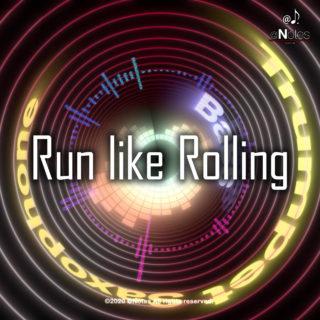 新曲「Run like Rolling」をリリースしました