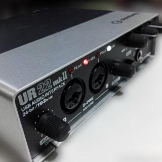 UR22mk2から音が出ない!?(USB最大数の問題)を解決!